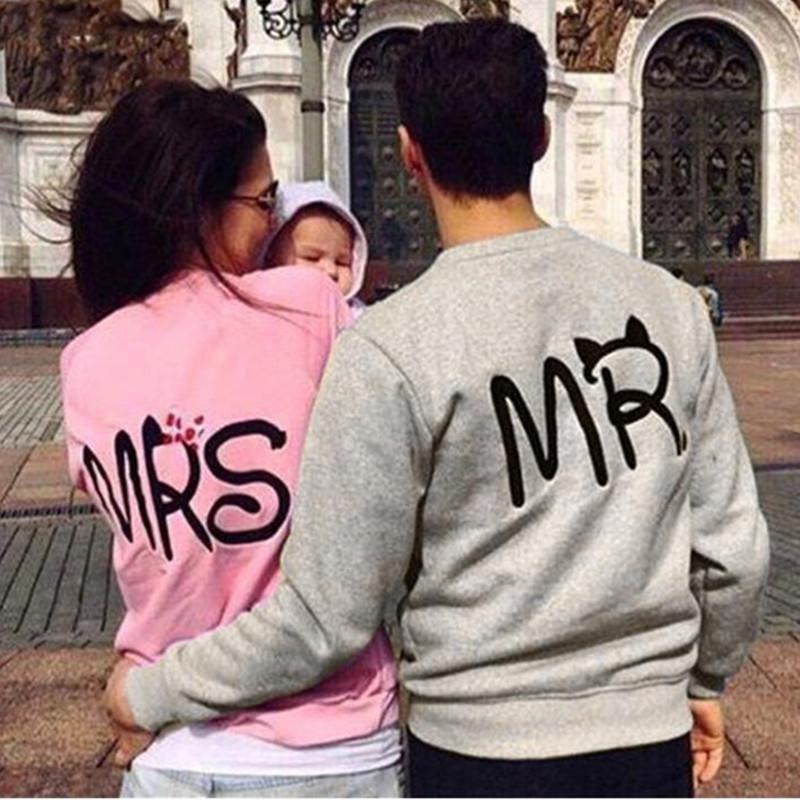 Camisa del desgaste de la señora Mr los ebey Mujeres Volver impresión de la letra, además de terciopelo chaqueta Mujer Camisetas