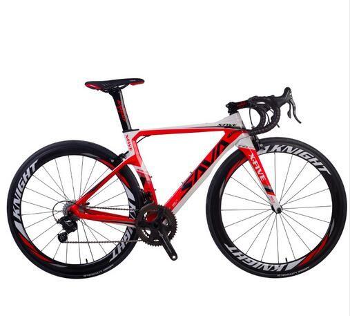 SAVA de fibrade carreras de velocidad bicicleta bicicleta de carretera Bcycle con CAMPAGNOLO coro 22 velocidad