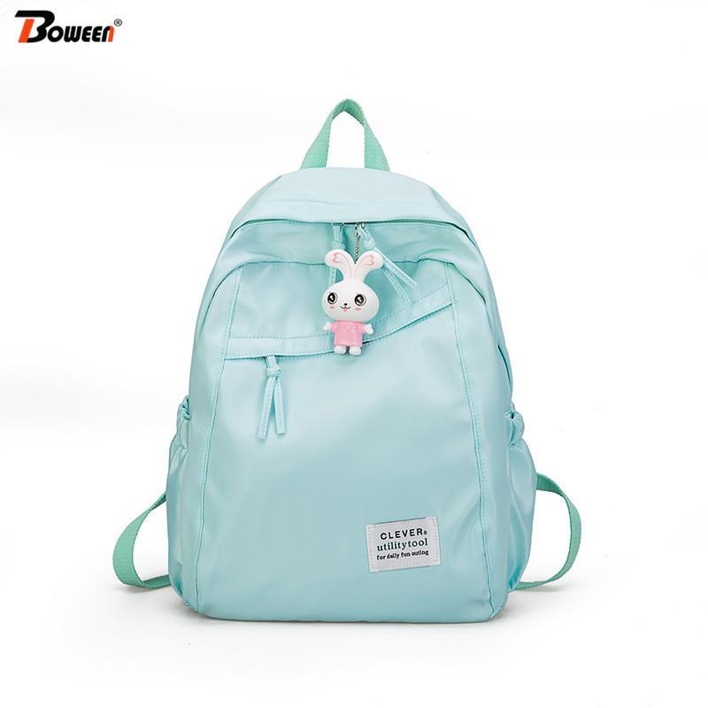TLMY Rabbit Bag Schoolboy Cute Girl Bag Shoulder Reduction Shoulder Bag Backpack Color : A