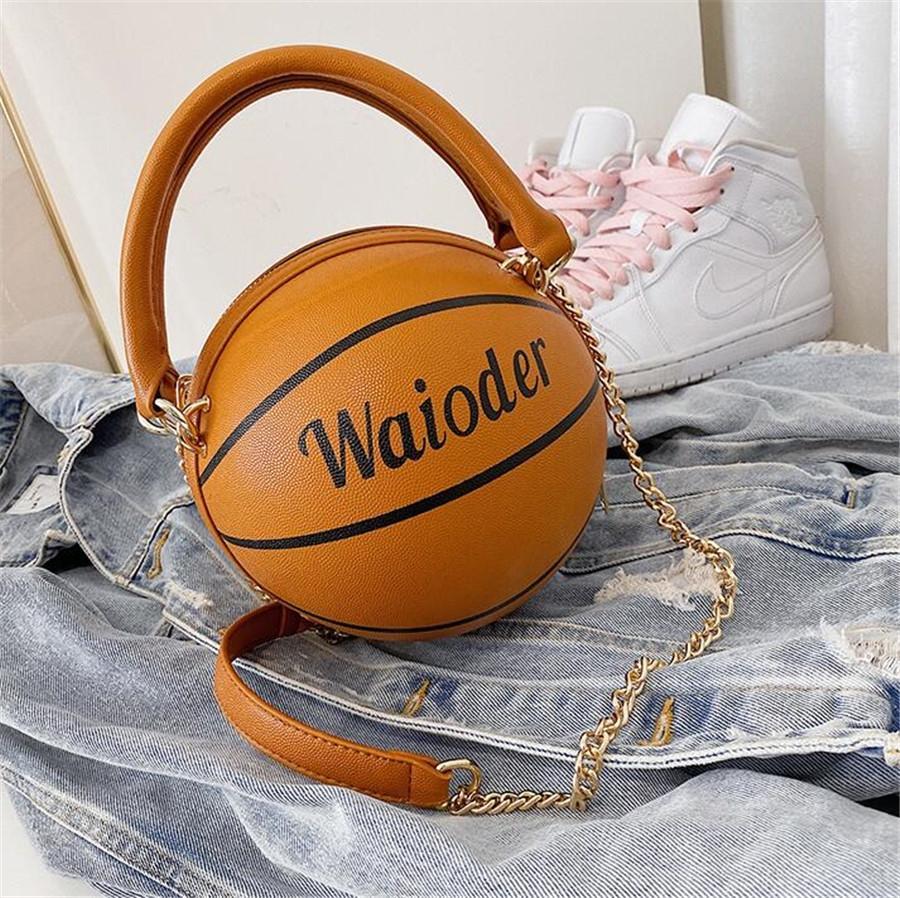 2020 caliente de la manera de las mujeres bolsa de baloncesto famoso PU del bolso de los bolsos de estilo europeo bolsa debe de mano con bolsillo 553 # 43601