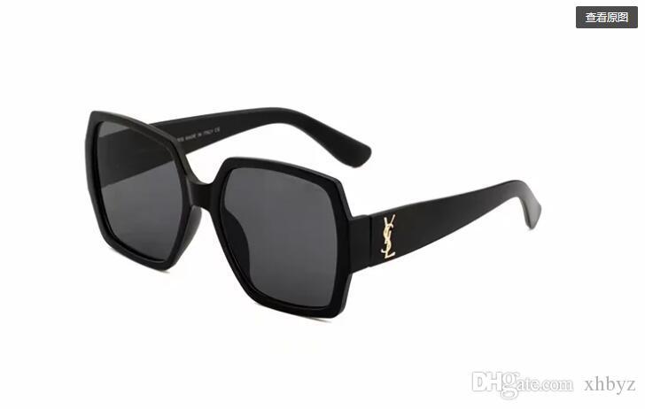 Lente polarizada de alta qualidade piloto moda óculos de sol para homens e mulheres marca designer esporte do vintage óculos de sol55931 com