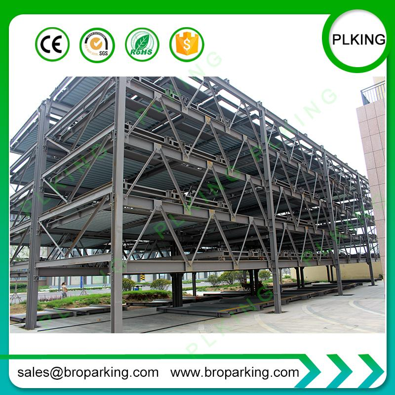 PLKING CE approved lift & slide automated hydraulic puzzle car parking tower blocks