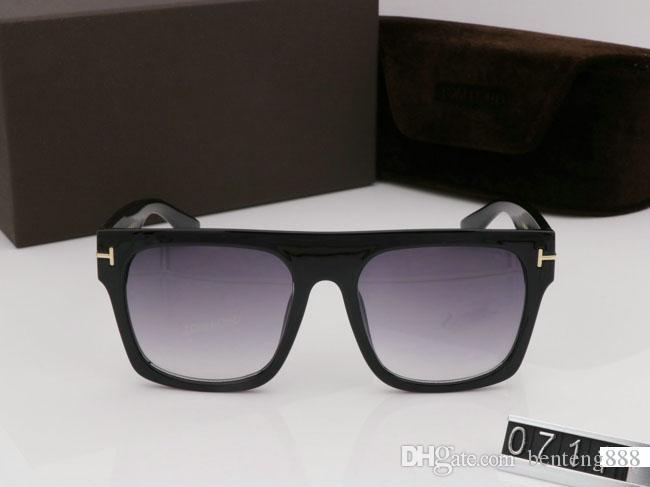 Quali NUEVO Gafas de sol de personalidad UV400 para 2020 0711 Mujer Tom Designer Gafas de sol Hombre Ford Fashion Outdoor Ocio Ocio High Eye Aoppo