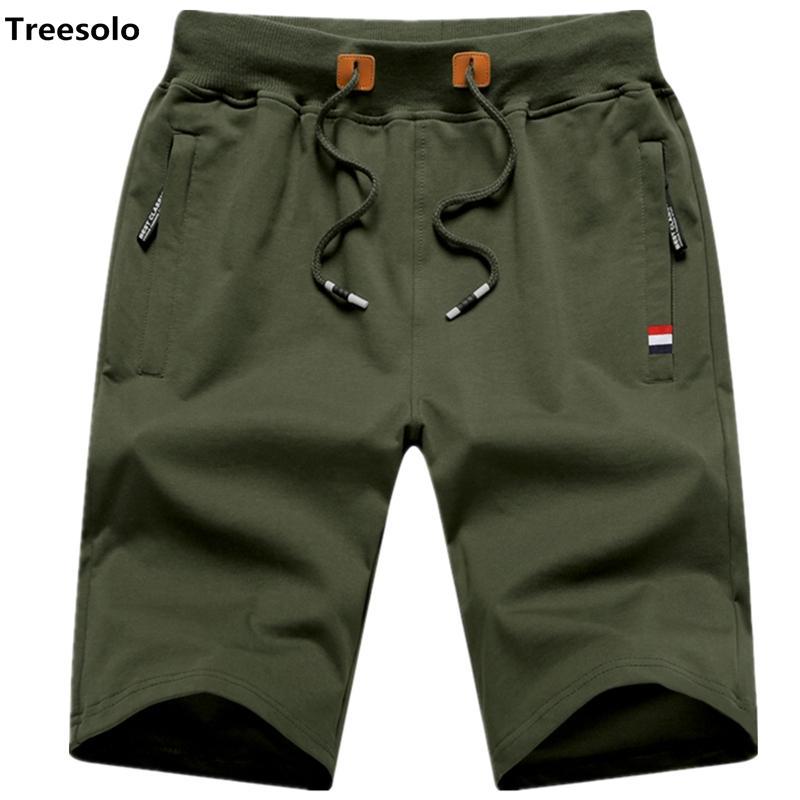 Shorts décontractés hommes solides hommes shorts 5xl été hommes plage courte homme coton Casual hommes pantalons courts homme marque vêtements 9993 Y19042005