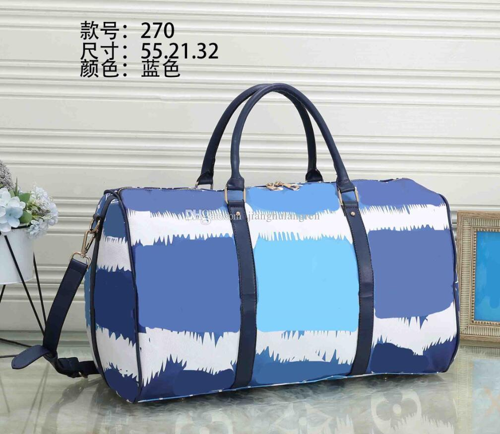 Çantalar Duffle Çanta Erkekler R Tote El Bagaj Seyahat 55 cm Çanta Escale PU Deri Büyük Çapraz Vücut Kadınlar XIPCA