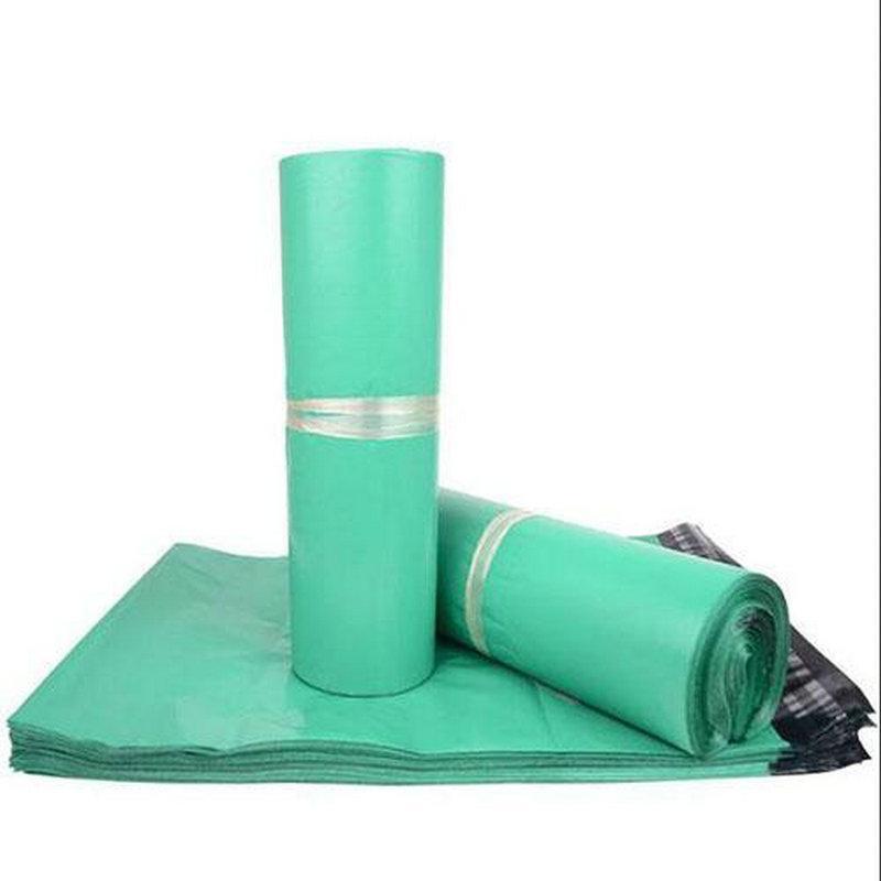 Envelopes verdes Poly Mailer por correio plástico Mailing Bags qualidade Envelope Hight 28 * 42 centímetros frete grátis