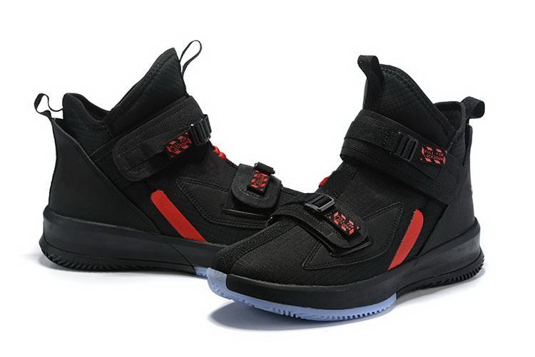 Nossos atacado 2020 LeBron Soldado 13 Trovão alfabeto Grey Soupr Basketbal sapatos tênis de basquete tamanho de alta qualidade tênis 7-12