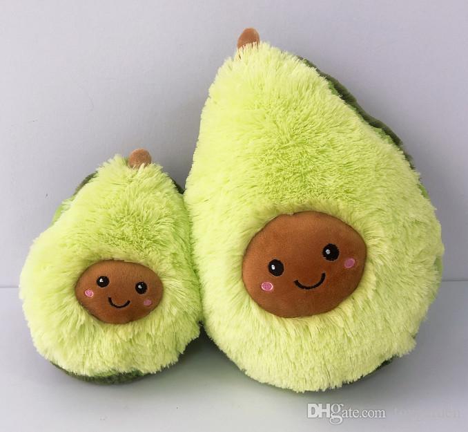 Avocado Kissen Plüsch Gefüllte Puppe Obst Pillow Karikatur Niedlich Kinder Toy