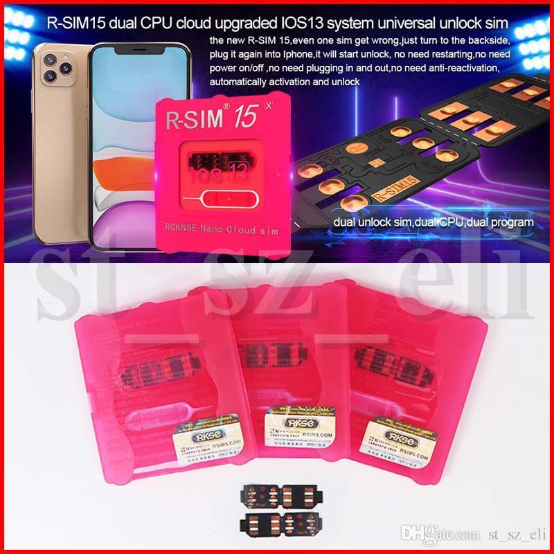 RSIM15 г-sim15 г сим 15 R 15 сим разблокировки смарт-карты для iPhone Xmax iPhone8 iPhone 7 плюс и i6 разблокирован IOS 13 универсальный разблокировки