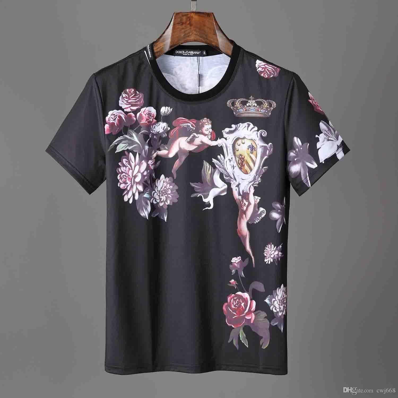 T-shirt dos homens do verão Roupa do 8Men KITH Moda Cartas Imprimir T-shirt legal do pescoço de manga curta em torno do pescoço T Homens Mulheres Branco