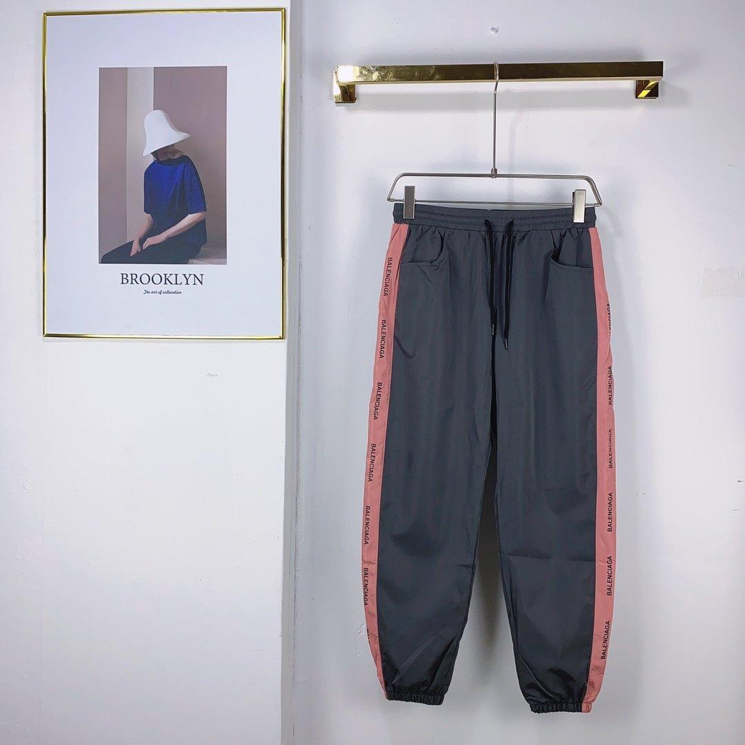 2020 весной и осенью французской моды полный темный корпус с печатным рисунком брюки мужские ткани высокого качества горячей продажи брюки горячей европейском стиле