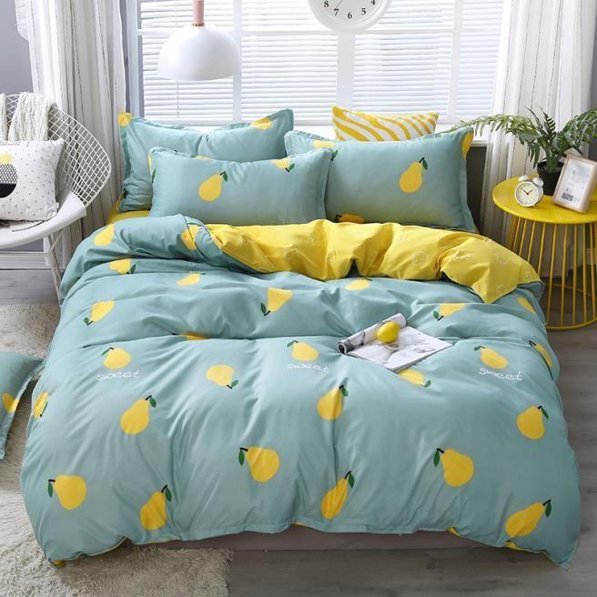 Designer Bed Comforters Sets Bedding, Pineapple Bedding Set