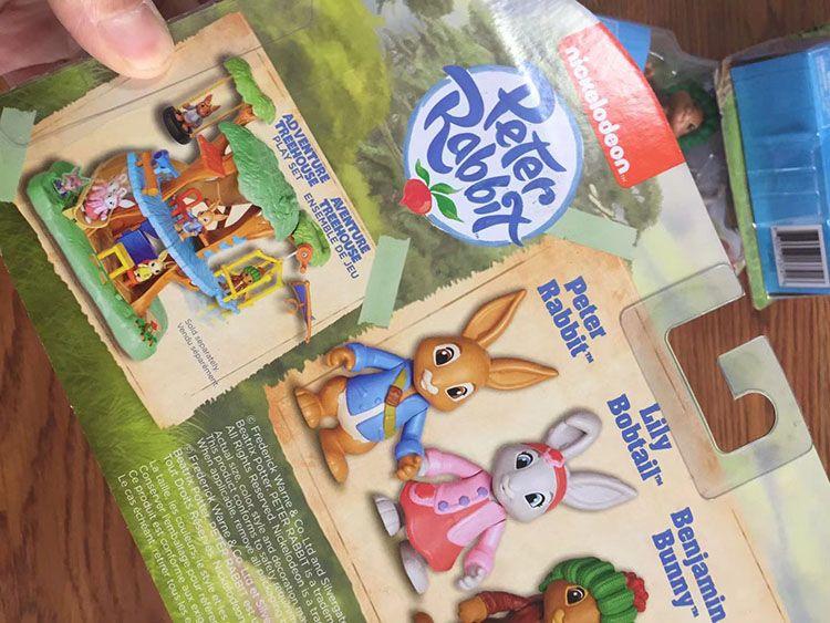 Freeshipping Peter Tavşan Arkadaşlarıyla Çocuk Evi Plastik Bebek Oyuncak Pretty Özel Oyuncaklar