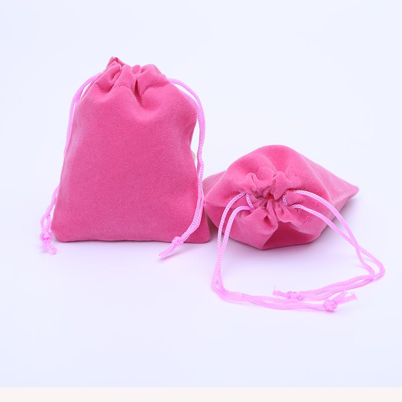 """Velvet Gift Bags 6x7cm(2.35"""" x 2.75"""") Christams Gift Bags Velvet Jewlery Bag with Drawstring Wedding Party Gift Pouches 1000pcs"""
