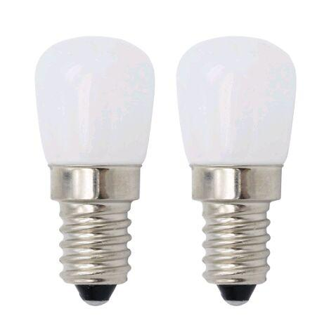 LED E14 220V 230V 3W brilhante Frigorífico Luz E12 110V mini-bulbo de lâmpada para Lustres de cristal freezer