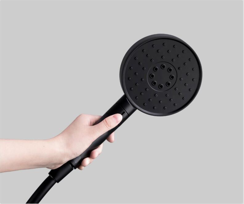 PVC 마텔 강력한 마사지 샤워 3018585C3 원래 샤오 미 Youpin Diiib 3 모드 핸드 헬드 샤워 헤드 360도 120mm (53) 물 구멍