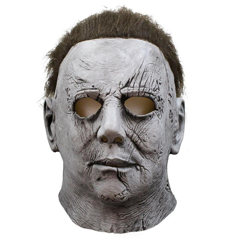 Michael Myers Halloween Masque De Latex Mascaras Mascara Realista cosplay masques effrayants mascarade Masque Korku Maskesi Party Maski