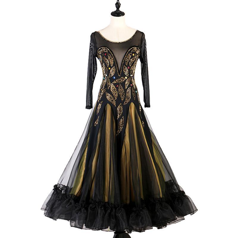 Novo flash sexy vestido de trajes de grupos uniformes de desempenho dança de salão de dança de salão 2.020 profissional moden