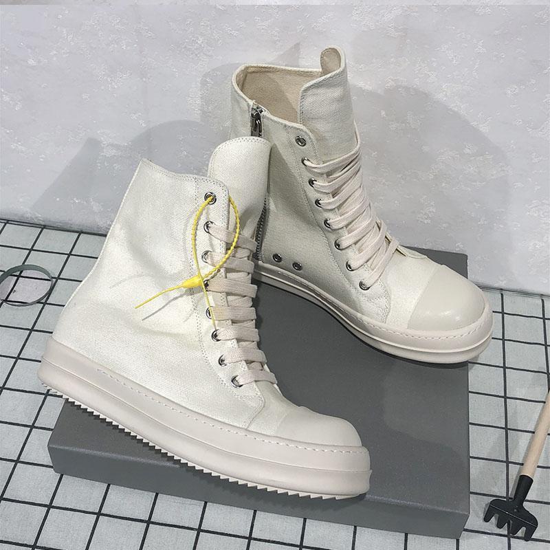 2020 zapatos calientes de las mujeres de moda transpirable zapatillas de deporte de las mujeres del otoño del resorte del calzado del top del alto zapatos de lona ocasionales femeninos 9 # 25 / 20D50