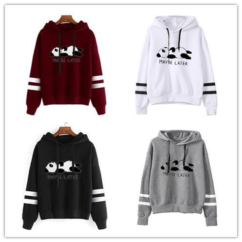 Pull à capuche Chemise Débardeurs européenne American Style Automne et Hiver Nouvelle capuche à capuche Chat Shirt Femme Sweater Femmes