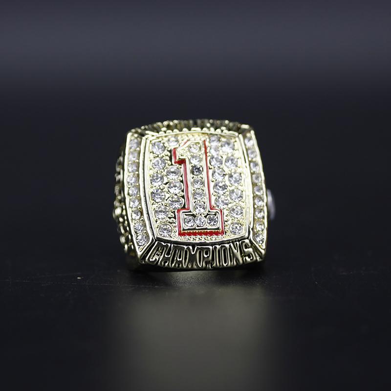 2005 National Texas Longhorns Football Championship Ring Souvenir Männer Fan-Geschenk-Tropfen-Verschiffen