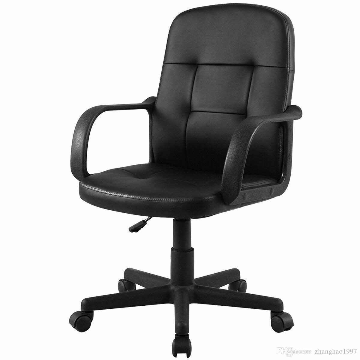 Brilliant 2019 Pu Leather Ergonomic Midback Executive Computer Best Desk Task Office Chair From Zhanghao1997 169 85 Dhgate Com Machost Co Dining Chair Design Ideas Machostcouk