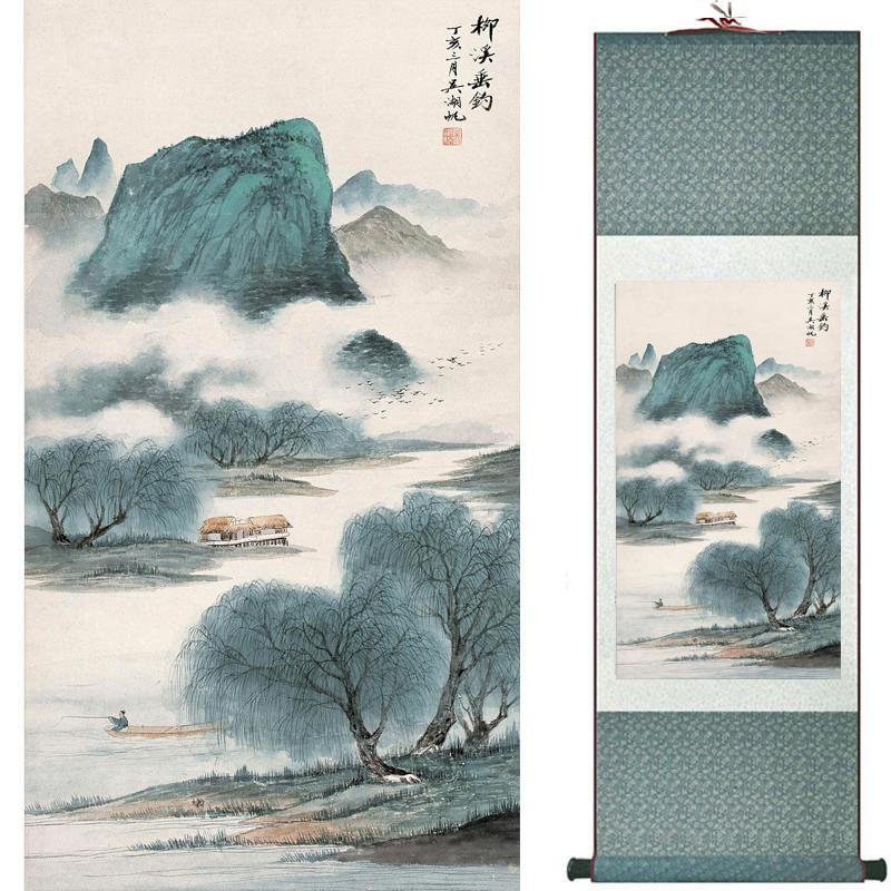 Landscape Art Painting Super Quality Traditional Chinese Art Painting Home Office Decoration Chinese Painting1906101608