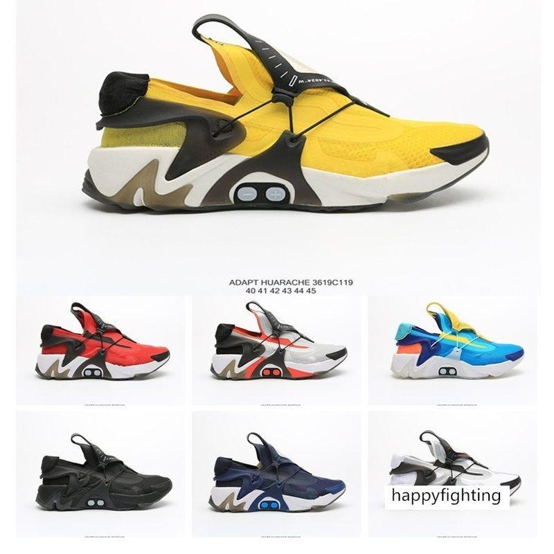 Passen New Huarache Racer Männer Laufschuhe Weiß Rot Schwarz Gelb Designer Huraches Marke Turnschuhe Sport-Turnschuhe Art und Weise Größe 40-45