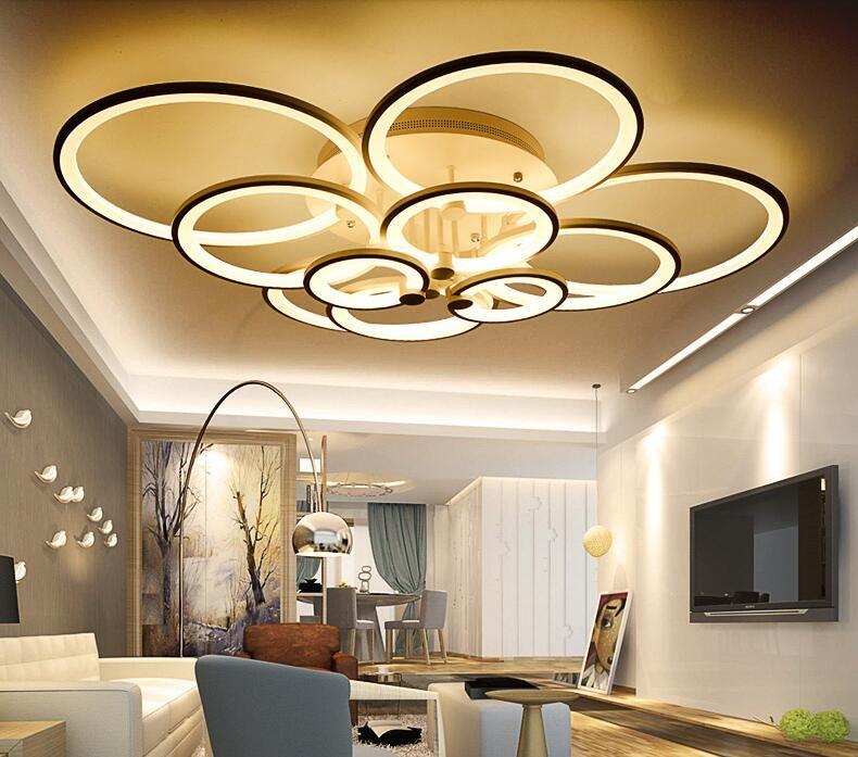Acrylic Modern led ceiling lights for living room bedroom Plafon led home Lighting ceiling lamp home lighting fixtures