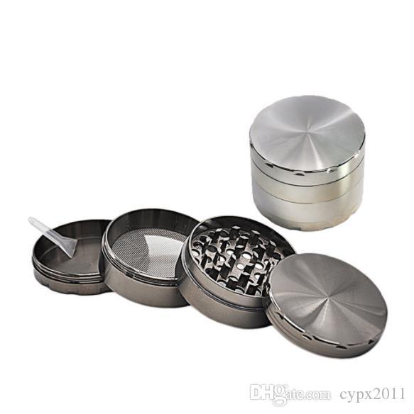 공장 직접 금속 연삭기 대외 무역 수출 금속 그루브 아연 합금 4 층 58mm 연삭 흡연자 흡연