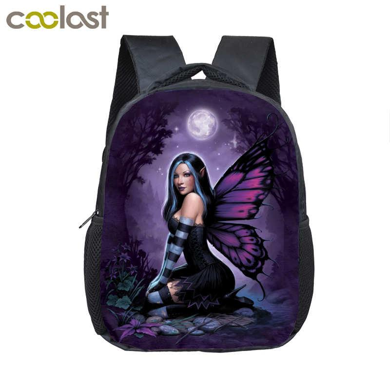 Magic Fantasy Fairy Witch/Cool Drogon Mini Backpack For Girls Boys Child Diaper Bag School Bags Kids Kindergarten Backpack