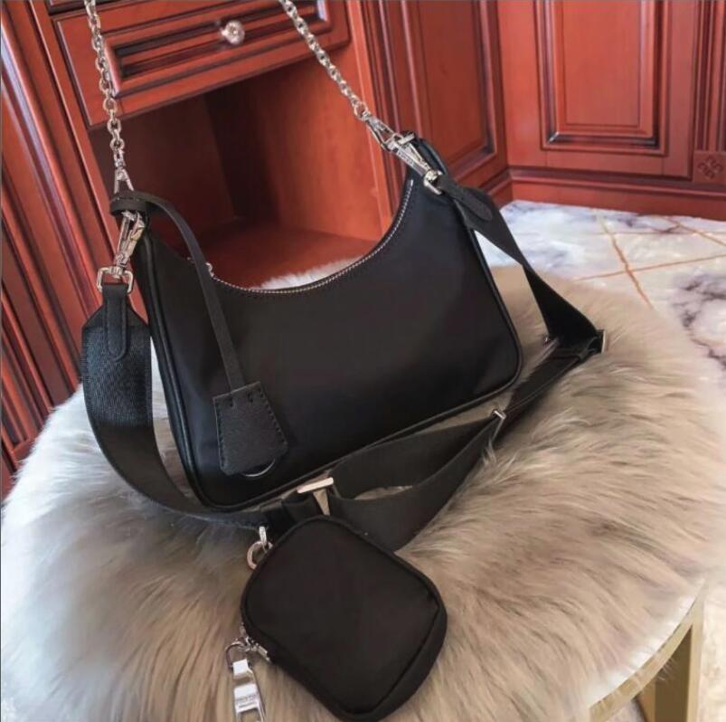Sacs sacs sacs à sacs à main d'épaule dame totes 2020 femmes toile Messenger sac à main tarpulin sacs mode PU sac sacs à main Hobo cuir mode BA omlr