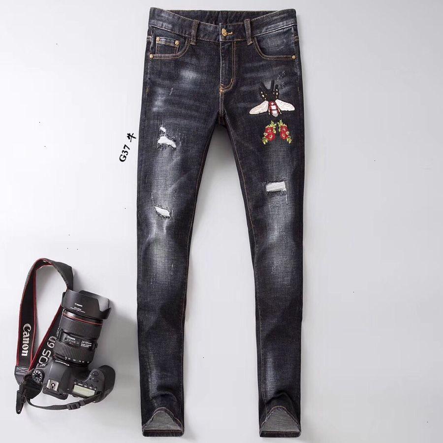 Мужские джинсы Мода повседневные брюки Размер 28-38 Удобная теплая WSJ001 # 110972 cool_shopping07