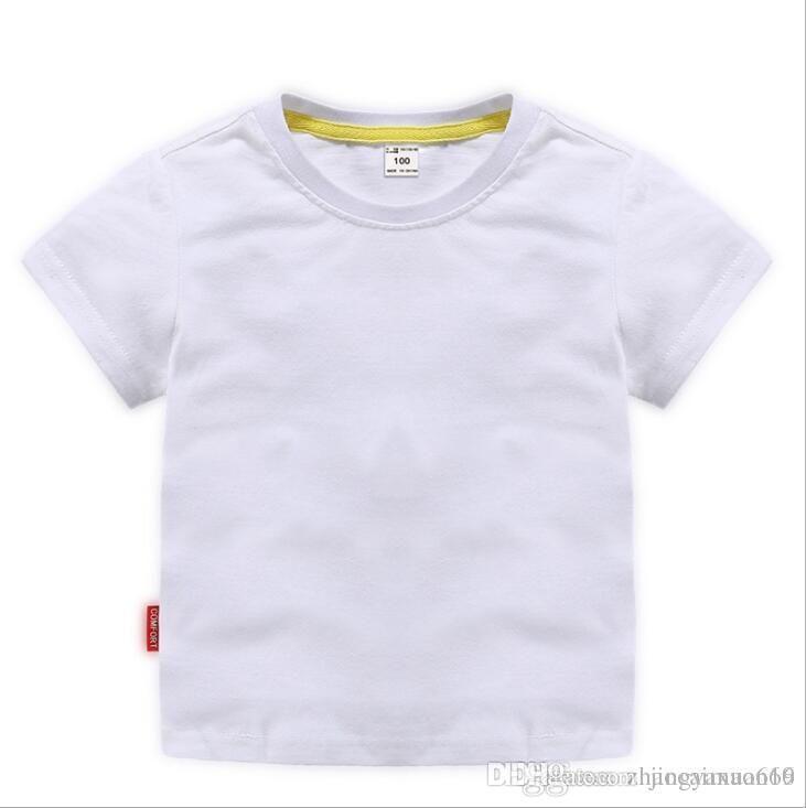 2019 New Hot designer T-shirt bambini di marca 2-8T anni Neonate maschi T-shirt r shirt Top cotone bambini Tees bambini Abbigliamento 2 colori A