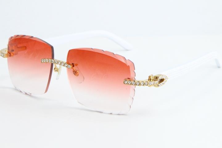 Vendere grandi pietre senza orlo 012 Large Occhiali da sole quadrati Aviatori gli occhiali di alta qualità unica oversize forme Fanciful Occhiali Moda