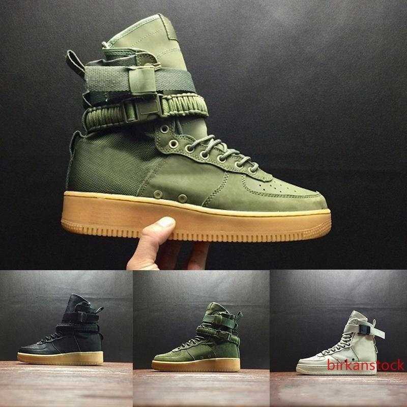 Nuevo Venta Especial campo SF Para 1 Una Hombres Mujeres Altas botas de los zapatos corrientes zapatillas de deporte de utilidad presenta los cargadores clásicos Armado 36-45