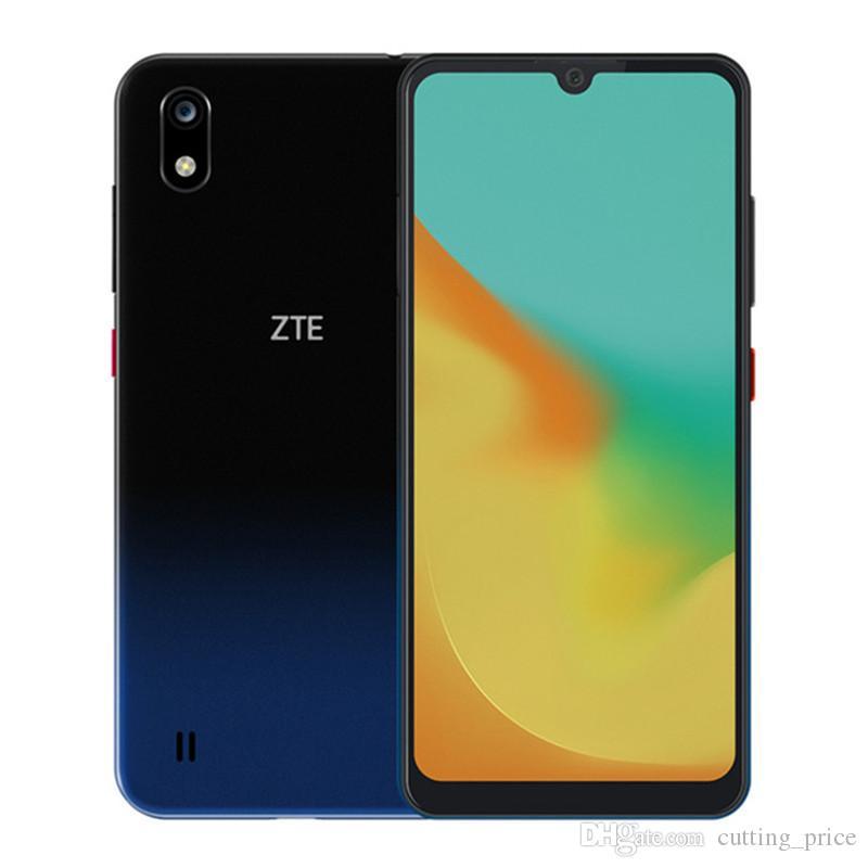 """ZTE Blade A7 4G LTE Celular Original 3 GB RAM 64 GB ROM Helio P60 Octa Núcleo Android 6.1 """"Tela Cheia 16MP Face ID Impressão Digital de Telefone Móvel"""