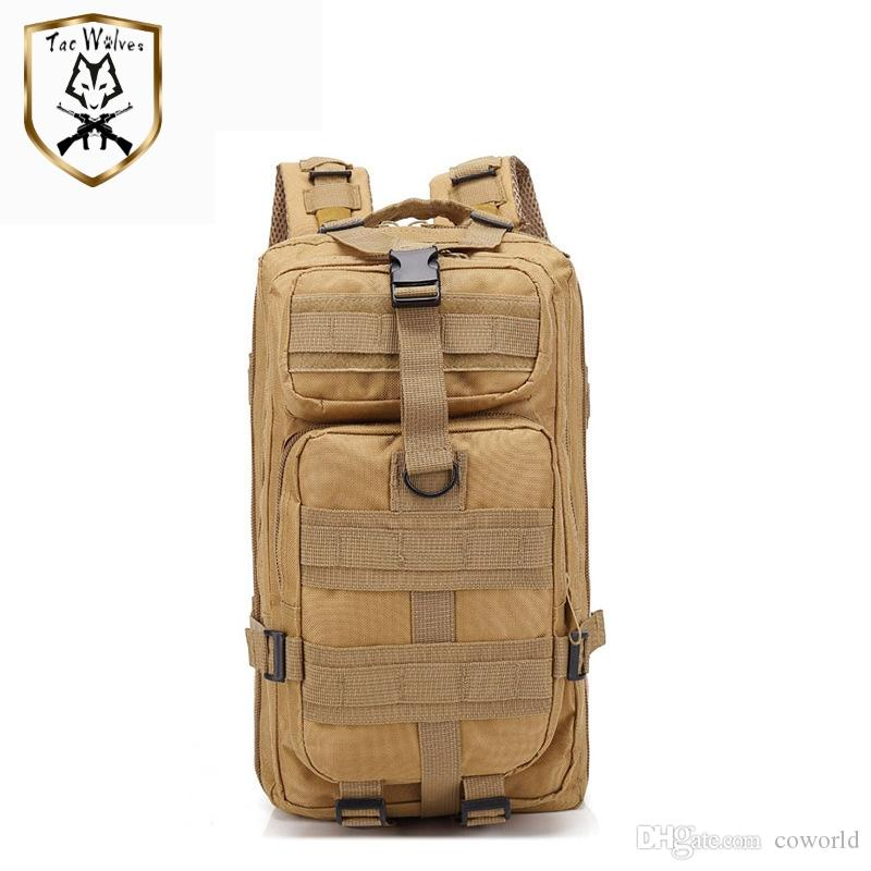 30L Camouflage Tactical Backpack Military Backpacks Waterproof Army Rucksack Outdoor Camping Hiking Fishing Large Capacity Bags