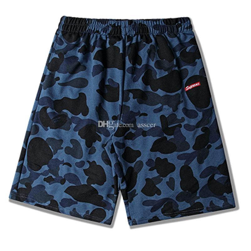 Mens Stylist pantaloncini Moda larghi pantaloni casual da uomo di alta qualità Trend Uomo Donna Pantaloncini sportivi estivi