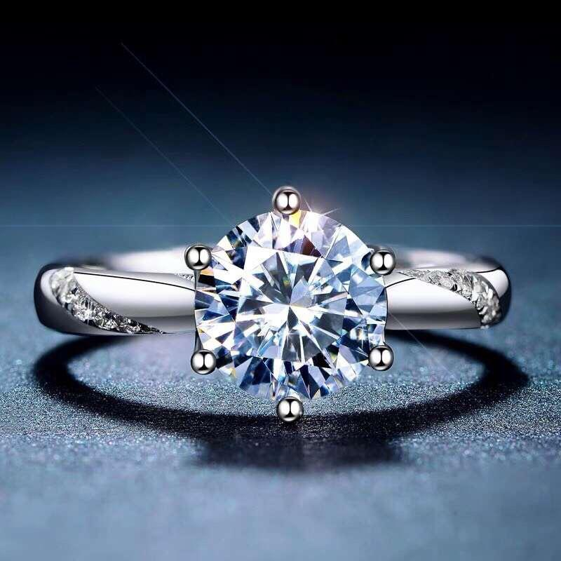 [MeiBaPJ Moissanite, S Super venta caliente, comparable a los diamantes, artesanía exquisita