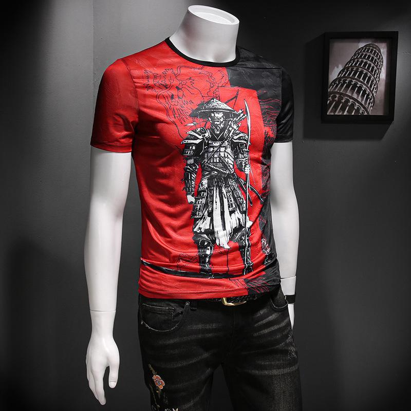 2020 homens de alta qualidade T-shirt moda verão de manga curta casuais confortável em torno do pescoço T-shirt roupas da moda LEAGBCU3