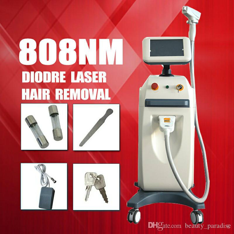 diode laser machine Permanrnt Hair Removal diode laser tiny hair removal equipment 808 diode laser hair remover