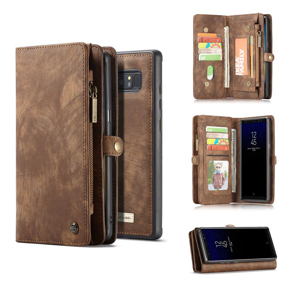 Чехол-бумажник для Samsung S10E S10 S9 Plus Note 10 Pro 9 8 Case натуральная кожа Магнит задняя крышка для Galaxy A50 A70 A40 A30 A20