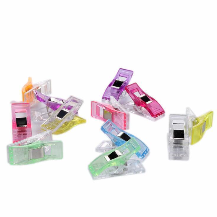 Mini Multi Sewing Clips Clothespins Perfekt für Nähen Bindung Quilting Stoff Crafts Papier Arbeit und Hanging