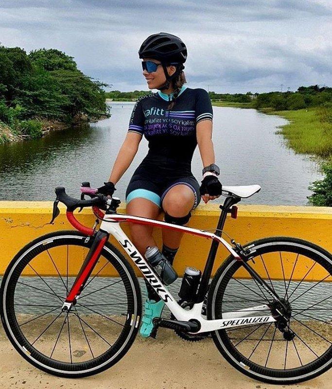 Ciclismo abbigliamento personalizzato triathlon bici Skinsuit ciclismo femminile Imposta Tuta Team Moto Kit Ropa Ciclismo Mujer