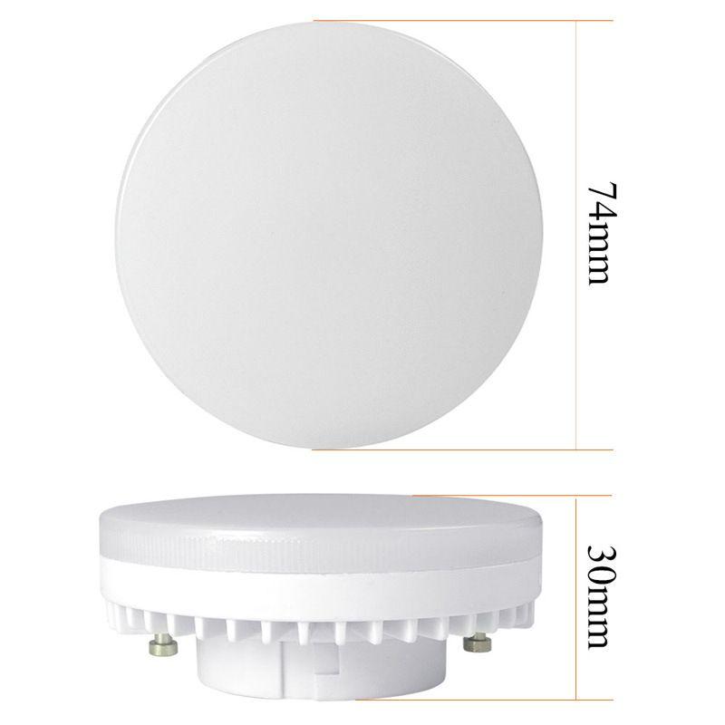 7W GX53 привели лампы молочно-белый кабинет светодиодный потолочный светильник