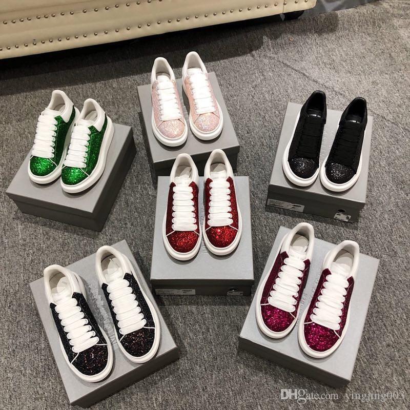 Diseñador ocasional Zapatos Hombres Mujeres Hombres diario estilo de vida de lujo en monopatín zapatos de plataforma de moda Caminar xrx19040921 Formadores Negro