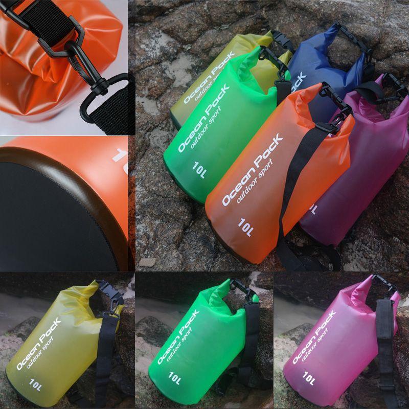 30L PVC Waterproof Dry Bag Sack Ocean Pack Floating Boating Kayaking Camping UK