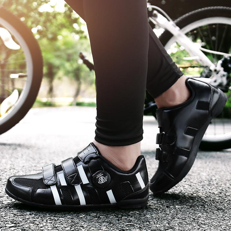 HYFMWZS Zapatos de Bicicleta Unisex Krasovki Hombres Zapatos de Bicicleta de Carretera de Alta Calidad Mujeres Ciclismo antideslizante Pareja Bicicleta de Carretera 36-44