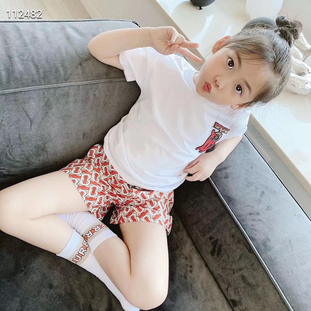 New Kids Meninas Define crianças Verão Cotton curto mangas de camisa + Shorts Ternos Crianças Vestuário Tops